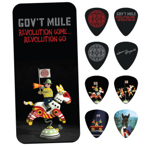 Gov't Mule Revolution Come...Revolution Go Guitar Pick Tins