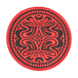 Red & Black Quattro Dose Patch
