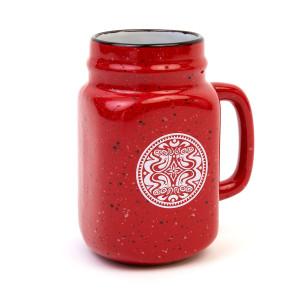 Ceramic Mason Jar Mug