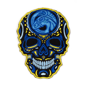 Sugar Skull Mule Patch