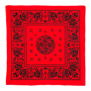 Gov't Mule Red & Black Bandana