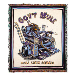The Mule Crew Abides Blanket