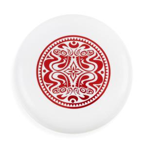 Quattro Dose White Frisbee