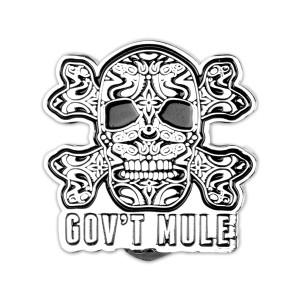 Gov't Mule Skull Pin