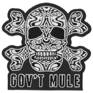 Gov't Mule Skull Patch