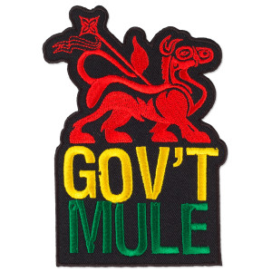 Gov't Mule Rasta Mule Patch