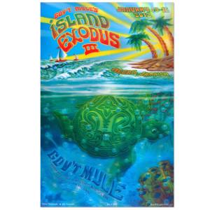 Gov't Mule Island Exodus III (2012) Event Poster