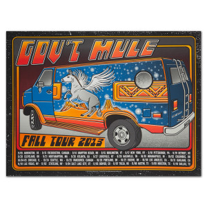 "Gov't Mule ""Vantastic"" 2013 Fall Tour Poster"