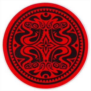 Gov't Mule Red/Black Quattro Dose Sticker