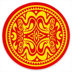 Gov't Mule Red/Yellow Quatro Dose Sticker