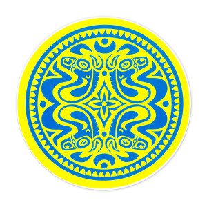 Gov't Mule Blue/Yellow Dose Sticker