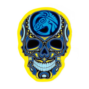 Sugar Skull Mule Sticker