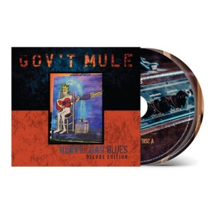 Gov't Mule Heavy Load Blues Deluxe CD