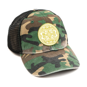 Woodland Camo Dose Trucker Hat