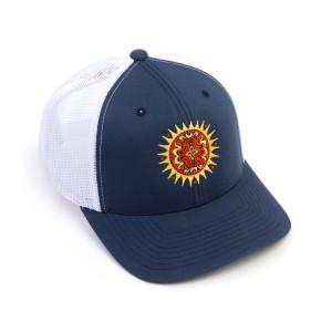 Sun Dose Navy/White Trucker Hat