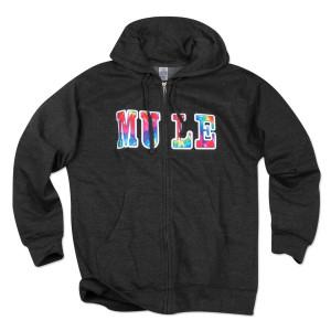 Gov't Mule Tie-Dye Patch Zip Hoodie