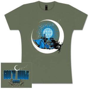 Gov't Mule Moon Lady Logo Ladies T-Shirt
