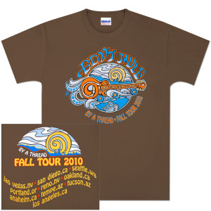 Gov't Mule 2010 Fall Tour  T-Shirt