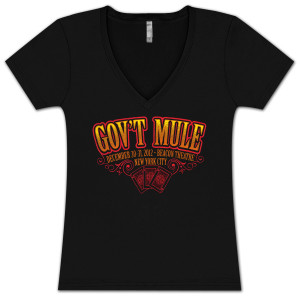 Gov't Mule New Years Eve 2012-2013 3 Kings Logo Ladies T-shirt