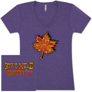 Gov't Mule Women's Fall Tour 2013 Shirt