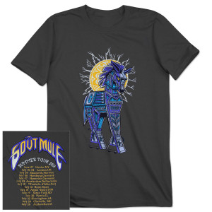 Gov't Mule 2014 Summer Tour Trojan Mule T-Shirt