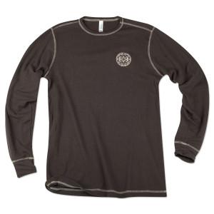 Gov't Mule L/S Brown Thermal Shirt