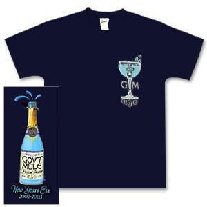 Gov't Mule 2002 New Year's Run T-Shirt