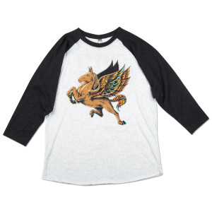 Gov't Mule Flying Mule Raglan