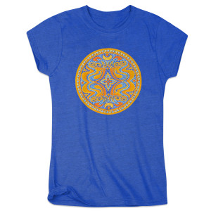 Gov't Mule Women's Dose Logo T-Shirt on Blue
