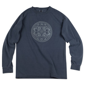 New Year's Eve Navy Long Sleeve Dose Tee