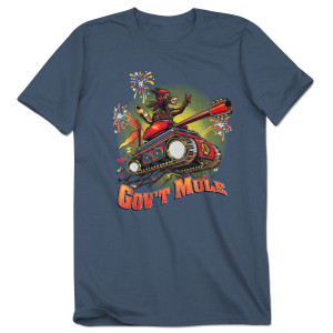 Mule On A Tank 2017 Fall Tour Shirt