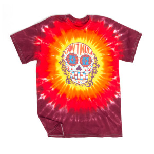 Sugar Skull Fall 2017 World Tour Red Tie Dye Shirt