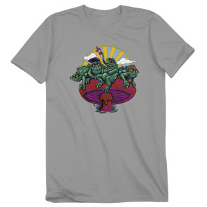 2018 Summer Tour Frogs Logo T-Shirt