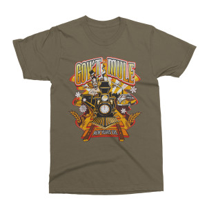 Mule Year's Eve Run 2018-2019 Train Logo T-Shirt