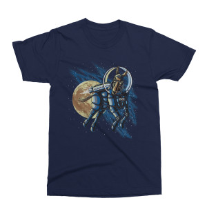 Mule Year's Eve Run 2018-2019 Space Logo T-Shirt