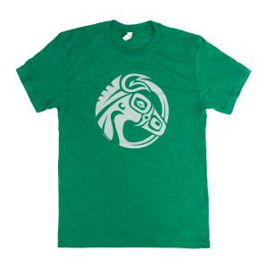 Green Mulehead Logo T-Shirt