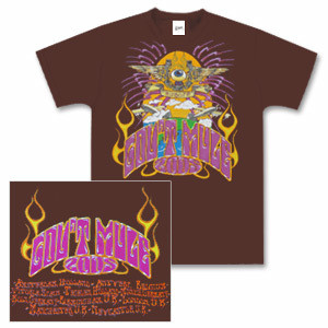 Gov't Mule 2005 European Tour T-Shirt