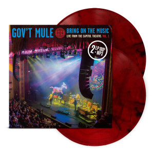 Red Splatter 2-LP Volume 1: Bring On The Music / Live at The Capitol Theatre