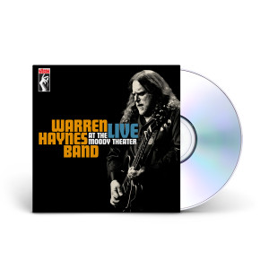 Warren Haynes Band - Live From the Moody Theatre DVD/CD