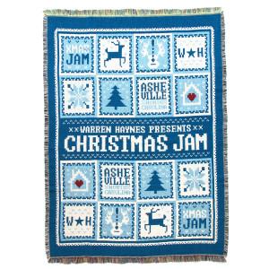Warren Haynes 2015 Christmas Jam Throw Blanket