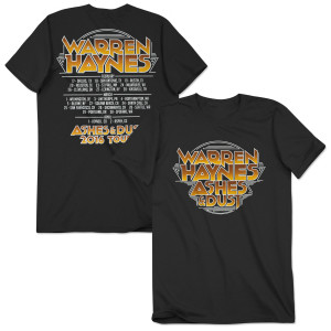 Warren Haynes 2016 Spring Tour T-Shirt