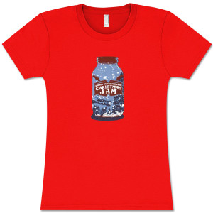 Warren Haynes 2009 Xmas Jam Jar Logo Ladies T-Shirt