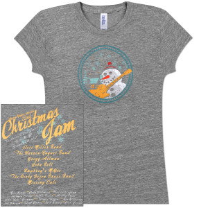 Warren Haynes 2010 Xmas Jam Ladies T-Shirt