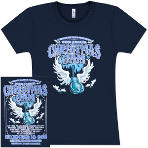 Warren Haynes 2011 Xmas Jam Ladies T-Shirt