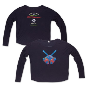 Warren Haynes Christmas Jam 26 Long-Sleeve Ladies T-Shirt