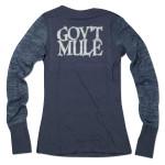 Gov't Mule Women's Owl Logo Long-Sleeve T-Shirt