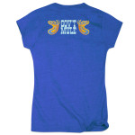 Gov't Mule Women's Dose Logo T-Shirt on Blue