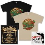 Gov't Mule – The Georgia Bootleg Box Set CD and T-Shirt Bundle
