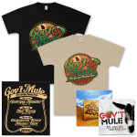 Gov't Mule – The Georgia Bootleg Box Set CD, T-Shirt, and Lee Boys CD Bundle