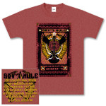 Gov't Mule 2007 Europe Summer Tour T-Shirt